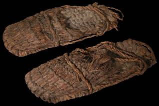Grass Sandals found near High Priest Lake. Carbon Dated to 10,000 BC.